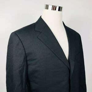 Brooks Brothers 42R BrooksEase Sport Coat Black
